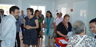 El alcalde de Cartagena visitó el consultorio de Playa Paraíso el día de su inauguración