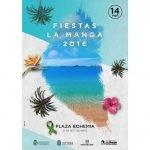Cartel de las Fiestas de La Manga 2016. / AAVV LA MANGA