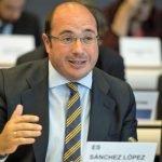 Sánchez durante su intervención en el Comité de Regiones.