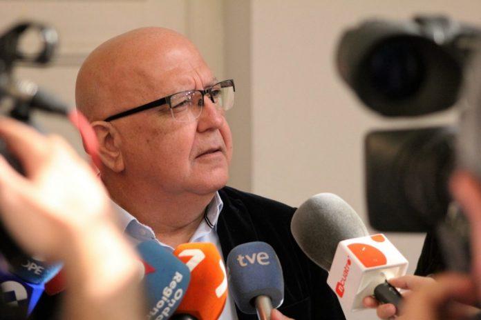 El concejal de Ciudadanos en Cartagena, Manuel Padín, en una imagen de archivo.