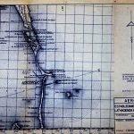 Plano a escala 1:50.000 presentado por Tomás Maestre ante el Ministerio del Aire en junio de 1973.