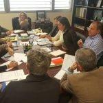 Imagen de la última reunión para tratar sobre el Mar Menor.