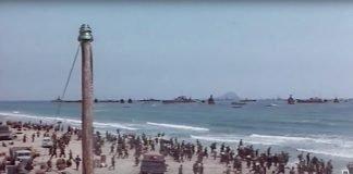 """Fotograma de la película """"De Dunkerke al infierno"""", rodada parcialmente en Cabo de Palos. / DLM"""