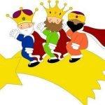 Esta noche vienen los Reyes Magos.