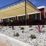 Vista de la fachada de Venta El Sabinar.